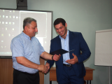 Вручение дипломов выпускникам направления подготовки «Физическая культура»