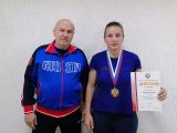 Чемпионка России по ушу саньда